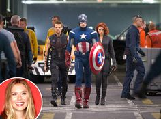Elizabeth Olsen Joins Cast of Avengers Sequel, Age of Ultron