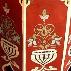 1000 images about hand painted furniture on pinterest for Moroccan hand painted furniture