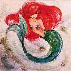 Little Mermaid by mcansketch
