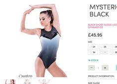 Product Information, Black Shorts, Gymnastics, Leo, One Piece, Sleeves, Swimwear, Fashion, Fitness
