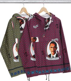 Wear Your Love for Barack Obama With the New Supreme Collection