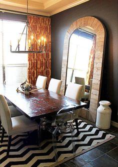 Fantastic Minimalist Dining Room Designs: 16 Modern Dining Room Design Ideas For Your Home – Modern House Big Wall Mirrors, Rustic Wall Mirrors, Giant Mirror, Huge Mirror, Long Mirror, Leaning Mirror, Arch Mirror, Mirror Set, Web Design