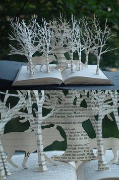 Story Book Paper Art