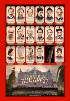 Buy The Grand Budapest Hotel on DVD at Mighty Ape NZ. The Grand Budapest Hotel is a 2014 American comedy film on DVD, written and directed by Wes Anderson. The Grand Budapest Hotel recounts the adventure. Budapest Hotel Movie, Grand Budapest Hotel Poster, Ralph Fiennes, Edward Norton, Tilda Swinton, Great Films, Good Movies, Love Movie, Movie Tv