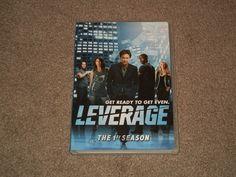 LEVERAGE The 1st Season (DVD, Movie, Drams, TV Series, 4 Disc Set, Widescreen)