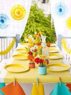 Summer Party Ideas & Decorations « WHOLE LIVING WEB MAGAZINE CELEBRATIONS