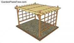 Garden Pergola Plans | Free Garden Plans - How to build garden projects