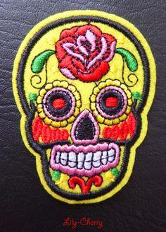 Free Life Hard Drive Biker Jacket Vest Patch */Écusson Brod/é Thermocollant 10 x 8 cm
