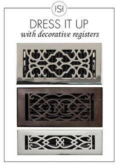 Attrayant Patterned Registers For Your Walls And Floors Are A Home Accent That Can  Instantly Update Your