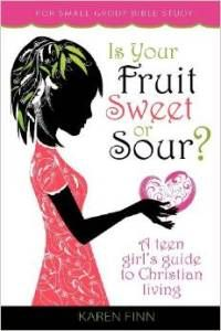 """""""Is Your Fruit Sweet or Sour"""" by Karen Finn is a Teen Girl's Guide to Christian Living. The award-winning non-fiction book was released in March 2012. It is a 12-chapter, topical Bible study book, written for women of all ages. Read more here... http://newbookjournal.com/2014/12/is-your-fruit-sweet-or-sour-by-karen-finn/ New Book Journal posts free press releases for authors and publishers."""