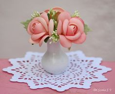 Cards ,Crafts ,Kids Projects: Foamiran Flowers Tutorial : Roses