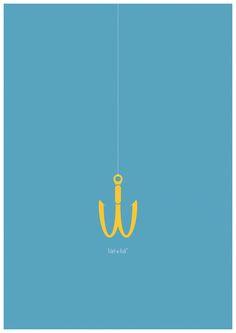 Advertising Campaign : McDonald's Filet-O-Fish: Fishing Hook Creative Advertising, Brand Advertising, Ads Creative, Advertising Poster, Best Advertising Campaigns, Ad Design, Logo Design, Visual Metaphor, Great Ads