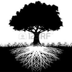木の根 図 イラスト - Google 検索