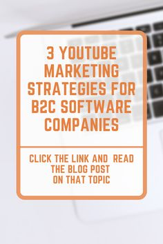 YouTube marketing strategies for B2C software companies. Business marketing strategy for B2C software companies. Read about those marketing topics in this blog post. #marketing #business Marketing Topics, Marketing Software, Marketing Strategies, Business Marketing, Online Marketing, Marketing Ideas, Social Media Digital Marketing, Blog Topics, Competitor Analysis