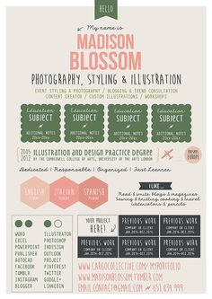 Resume CV Design Template Cover Letter for par OddBitsStudio