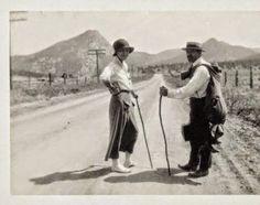 Georgia O'Keeffe, 1917, near Estes Park, Colorado, Chronicling Georgia O'Keefe by Pat Cypher