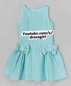 Baby Girl Frock Design, Baby Girl Dress Patterns, Baby Dress, Kids Dress Wear, Dresses Kids Girl, Little Dresses, Little Girl Fashion, Kids Fashion, Toddler Outfits