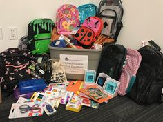 In September we had a back to school supply drive. Many of our wonderful employee's pitched in to make this a successful event! The supplies was donated to the non-profit foundation, People Serving People.