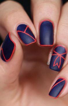 Dark nail Wide Nails, Dark Nails, Gel Nails, Toe Nail Designs, Nail Polish Designs, Nails Design, Art Designs, Design Art, Matte Nail Colors