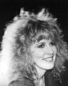 one the the loveliest photos taken of  Stevie   ~ ☆♥❤♥☆ ~   during her 'The Wild Heart' album tour, 1983