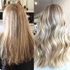 This beautiful color by Australian Olaplex stylist @alihooperhair is so spot on  She added 'babylights' (lightener/Olaplex #1) to brighten up her client's blonde and lowlights for dimension. #haircolor #healthyhair #olaplex #blonde by olaplex