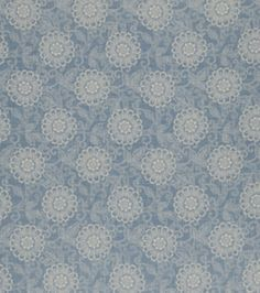 Home Decor Print Fabric-French General Locker Bleu, , hi-res