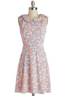 Highlight and Early Dress, #ModCloth