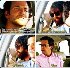 44 Ideas For Quotes Movie Hangover Hangover The Movie, Hangover Movie Quotes, Hangover Meme, Hangover Series, Funny Movie Memes, Funny Quotes, Bradley Cooper Hangover, Priceless Movie, Fast Meme