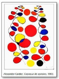 Alexander Calder Cipy má spirály