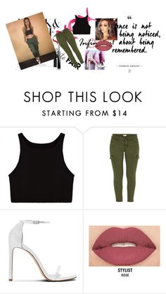 """""""little mix look"""" by jennicruz ❤ liked on Polyvore featuring GALA, Mother, Smashbox and Givenchy"""