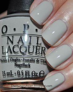 The Hungry Asian: OPI Fluch der Karibik: On Stranger Tides Collection Swa . Opi Gel Nails, Opi Nail Colors, Nude Nails, Acrylic Nails, Nail Paint Shades, Natural Looking Nails, Nail Polish Blog, Nails Only, Neutral Nails