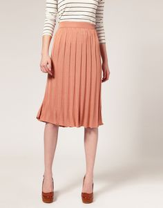 Pleated Skirt -- Thankfully these are SUPER easy to find at goodwill/thrift stores. Even if they're the wrong size, I just sew them to fit!