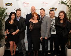 Albie & Chris Manzo, along with mother Caroline, father Albert, and sister Lauren, hit Miami Beach with fellow cast members Jacqueline and Chris Laurita from Real Housewives of New Jersey, turning the Breakwater Hotel into a blk out! Blk Water, which contains a blend of Fulvic Acid mined directly from the earth and pure Canadian Spring Water, was developed by Albie and is one of his latest ventures. Albie put the party together to celebrate the brands Miami launch.