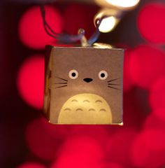 Mi vecino Totoro kawaii iluminarse linterna noche luces luces para dormitorio o cuarto de niños