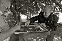 playing backgammon in Tbilisi - Georgia | by Frank Janssens