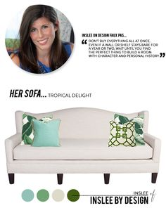 Project Sofa Design from Inslee by Design  Read more - http://www.stylemepretty.com/living/2014/01/20/project-sofa-design-from-inslee-by-design/