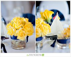LOVE the yellow and navy!!