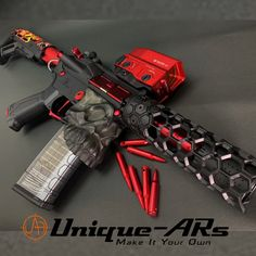Unique-ARs handguards are not just for the This is a sick airsoft build by our great friend Yutaka, TAC-Zombie Gear, Japan Ninja Weapons, Weapons Guns, Guns And Ammo, Aigle Animal, Zombie Gear, Armas Ninja, Gun Art, Custom Guns, Assault Rifle