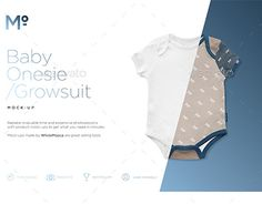 "Check out new work on my @Behance portfolio: ""Baby Growsuit / Onesie Mock-up"" http://be.net/gallery/50074605/Baby-Growsuit-Onesie-Mock-up"