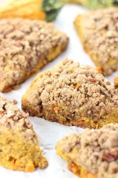 pumpkin pecan scones with brown sugar streusel 21