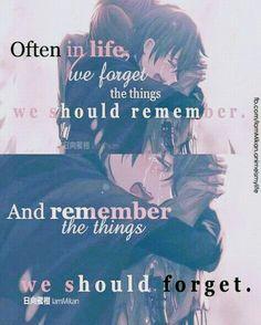 Quotes love sad anime Ideas for 2019 Sad Anime Quotes, Manga Quotes, Favorite Quotes, Best Quotes, Anime Triste, Haruhi Suzumiya, Dark Quotes, Depression Quotes, Les Sentiments