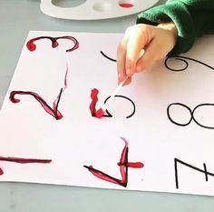 Repasar trazos de los símbolos numéricos