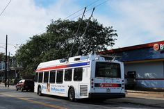 septa trackless trolley buses - Google Search