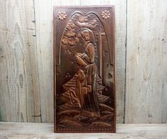 Vintage Copper Wall Decor 11' x 22.8' Handmade by GuestFromThePast