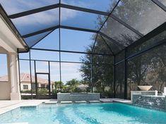 Florida Screen Repair Service Fabri Tech Florida Pool Screen Enclosures Pool Screen Enclosure