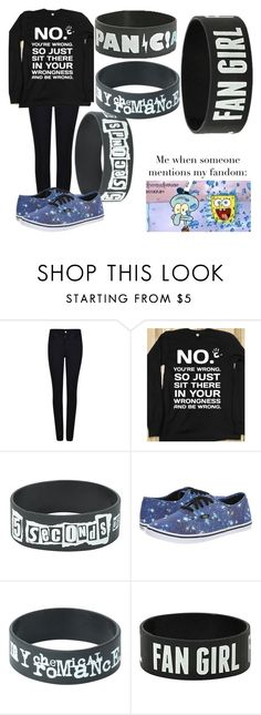 """WRONG"" by biter-sweet ❤ liked on Polyvore featuring Armani Jeans and Vans"