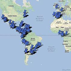 Mapa musical // Zambombazo // El mapa musical, ¡una nueva forma de navegar por las canciones del mundo hispanohablante y los recursos didácticos de nuestro sitio!