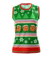 Women's Fruitcake Sweater Vest