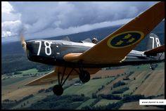 Daniel K - Professional Aviation Photography - Sk 15 Klemm 35 SE-BPT