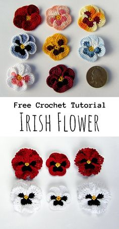 Crochet Irish Flower Fauna and Flora are two terms frequently heard by people who spend amount of time in nature. Crochet Simple, Cute Crochet, Crochet Crafts, Yarn Crafts, Knit Crochet, Crotchet, Crochet Toys, Crochet Granny, Crochet Shawl